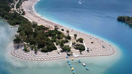 Пляжи Фетхие