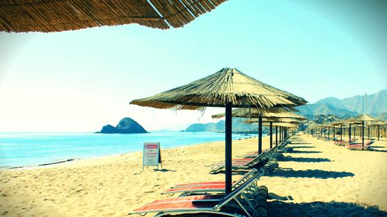 Пляжи Фуджейра