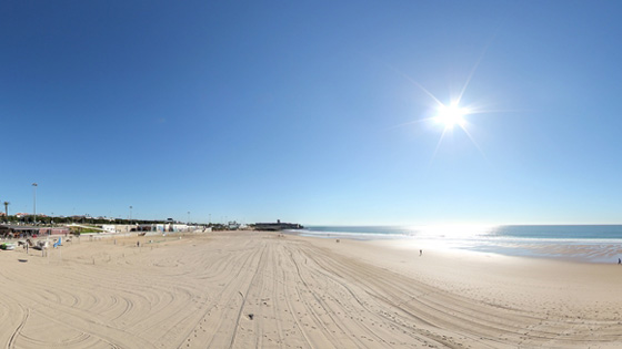 пляж Carcavelos