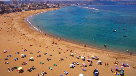 пляж Лас Кантерас