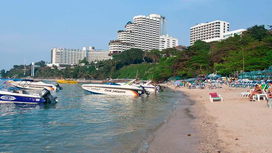 Пляж отеля Роял Клифф