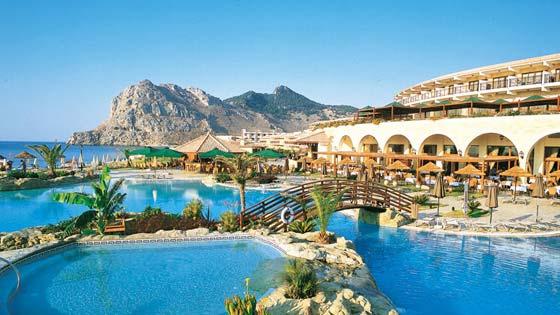 Отели Родоса с песчаным пляжем - ATLANTICA IMPERIAL 5