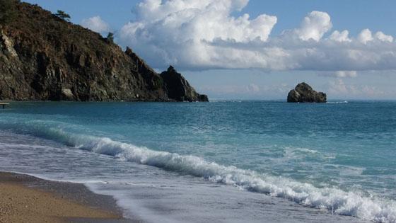 Песчаный пляж Кемера