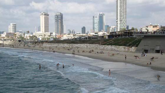 пляж Тель-Барух