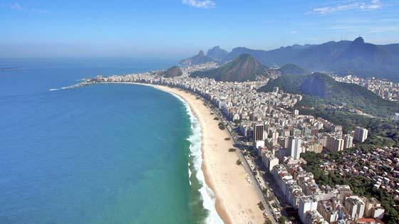 Пляжи Бразилии