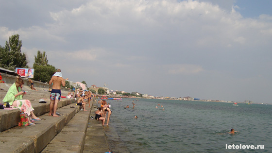 Евпатория городской пляж
