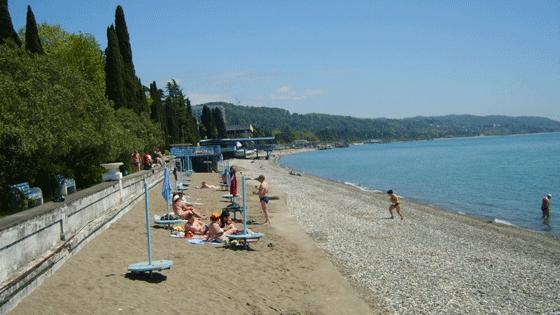 Лучшие пляжи Абхазии