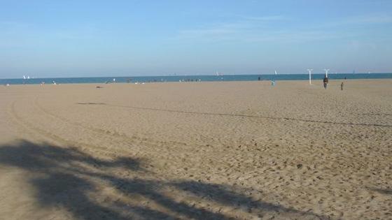 Пляж Cabañal-Arenas