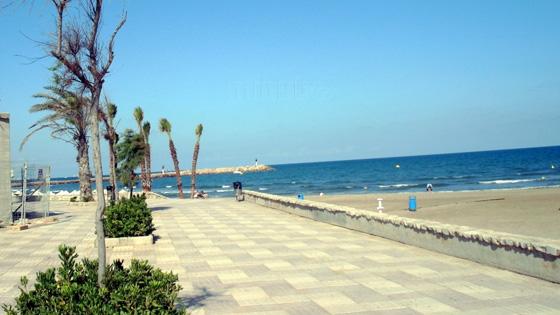 Пляжи Валенсии - Пляж La Malvarrosa