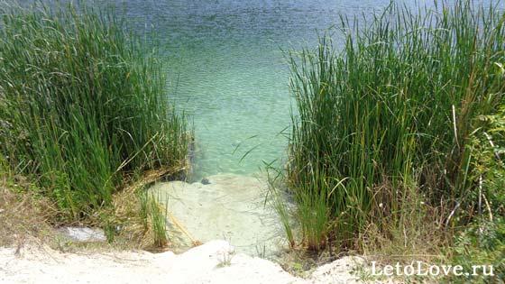 Озеро Святого Климента под Севастополем