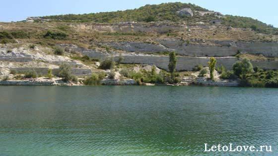 Озеро Святого Климента в Крыму