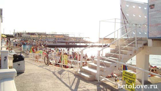 Пляж Парк Победы в Севастополе