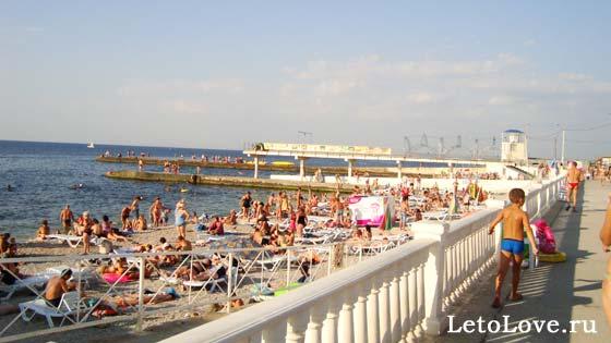 Пляж Парк Победы Севастополь
