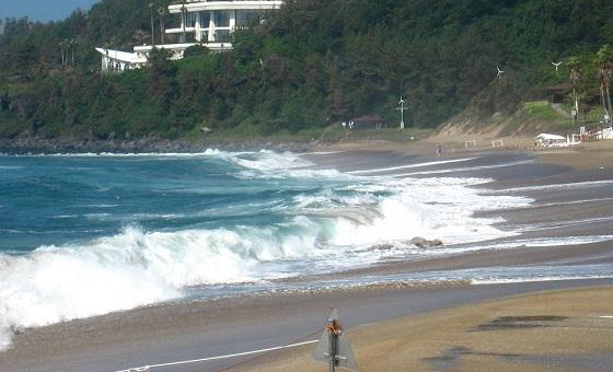 Пляж Чунмун острова Чеджу
