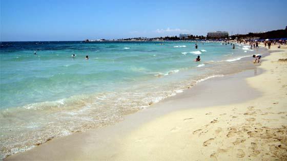 Пляжи Кипра Айа-Напа