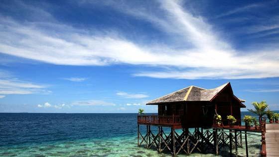 Пляжи острова Сипадан