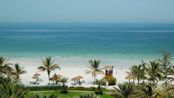 Пляжи Аджман