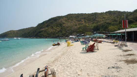 Пляжи острова Ко Лан