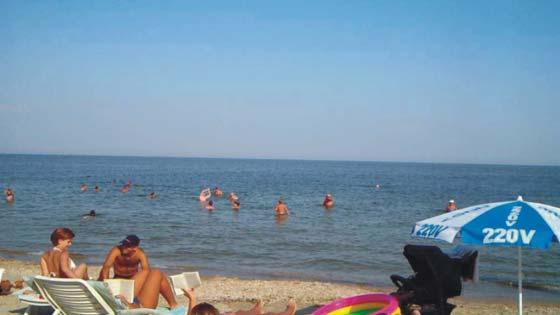 Пляж Московский