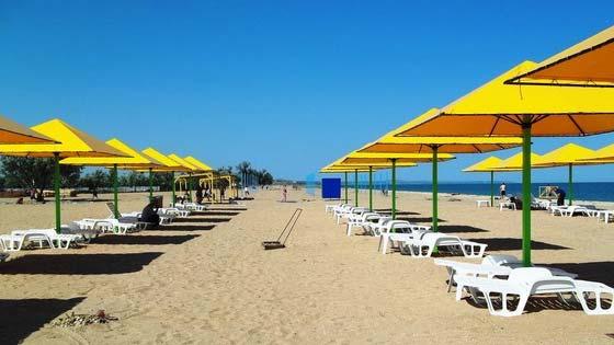 Пляжи Керчи - городской пляж