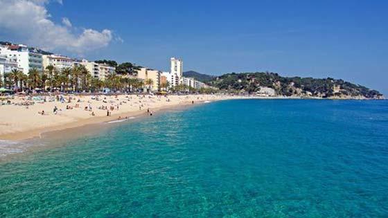 Пляжи Ллорет де Мар