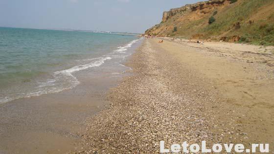 Пляж - Песчаное Крым