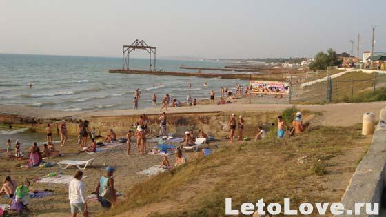 Песчаное - пляжи 2013