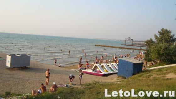Пляжи поселка Песчаное Крым
