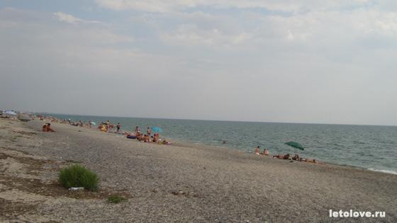 Пляжи Евпатории 2013