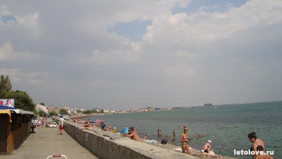 Евпатория - городской пляж на набережной