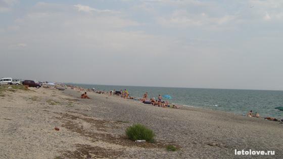 Крым Евпатория Пляж