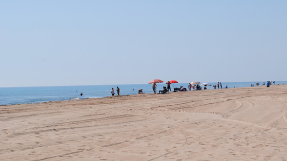 Пляж Recatí