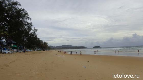 Пляж Карон