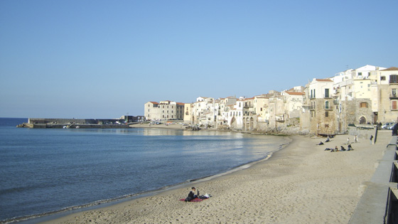 Пляжи Сицилии Cefalu