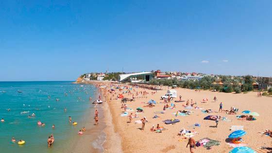 Учкуевка пляж