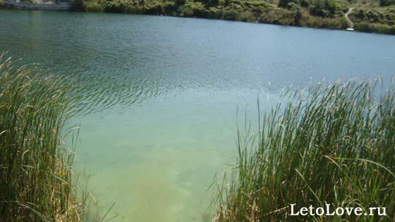 Озеро Святого Климента рядом с Севастополем